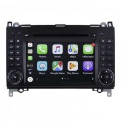 Autoradio Android tactile GPS Bluetooth Mercedes Classe A, Classe B, Sprinter, Viano, Vito + caméra de recul
