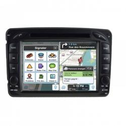 Autoradio Android tactile GPS Bluetooth Mercedes Classe C W203 Phase 1,Classe G, CLK,  Vito et Viano + caméra de recul