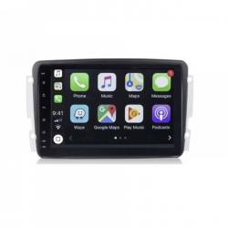 Autoradio Android full tactile GPS Bluetooth Mercedes Classe C W203 Phase 1,Classe G, CLK,  Vito et Viano + caméra de recul