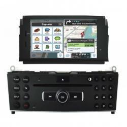 Autoradio Android tactile GPS Bluetooth Mercedes Classe C W204  2007 à 2011 + caméra de recul