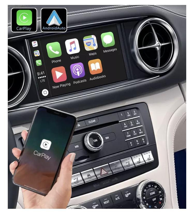 Mercedes classe c w204 sl r231 carplay android auto gps autoradio f48 x2 f39 2010 2011 2012 2013 2014 2015 2016 2017 2018 2019 serie 1 serie 3 e90 serie 5 e60 serie 6 e63 e60 2