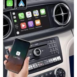 Boîtier Apple Carplay & Android Auto sans fil pour Mercedes SL R231 de 2012 à 2019
