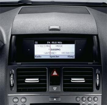 Mercedes classe c w204 wifi