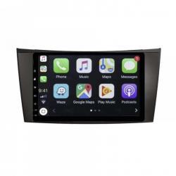 Autoradio Android full tactile GPS Bluetooth Mercedes Classe E W211, Classe CLS W219 et Classe G W463 + caméra de recul