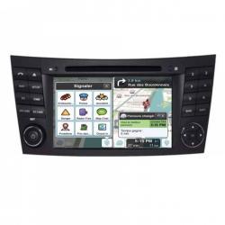 Autoradio Android tactile GPS Bluetooth Mercedes Classe E W211, Classe CLS W219 et Classe G W463 + caméra de recul