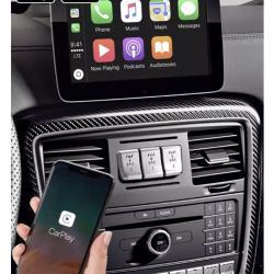 Boîtier Apple Carplay & Android Auto sans fil pour Mercedes Classe G W463 de 2012 à 2018