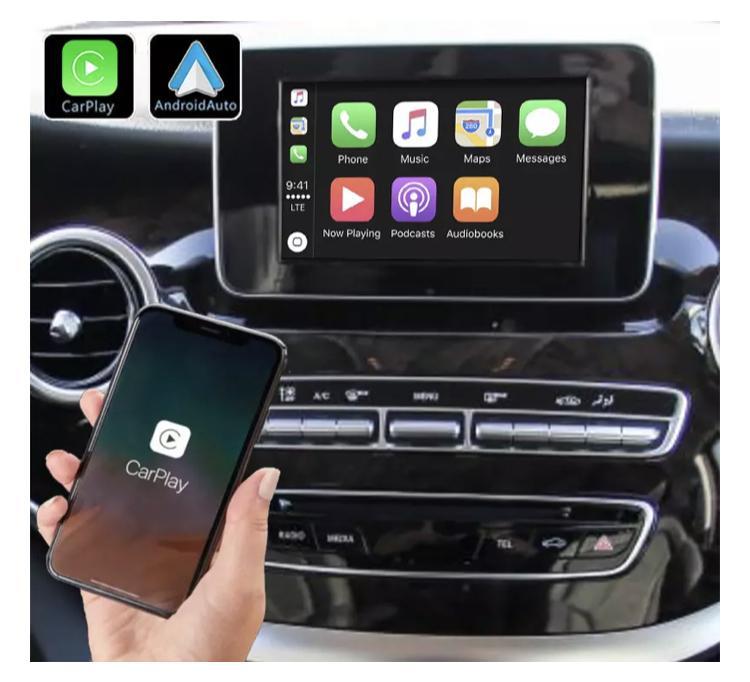 Mercedes classe x cls gle glk slk ml gl slc ntg4 0 ntg 5 0 ntg4 5 c w204 sl r231 carplay android auto gps autoradio 2010 2011 2012 2013 2014 2015 2016 2017 2018 2019 2020 serie 1 s