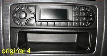 Mercedes clk classe c viano vito classe g usb