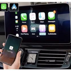 Boîtier Apple Carplay & Android Auto sans fil pour Mercedes CLS de 2014 à 2018