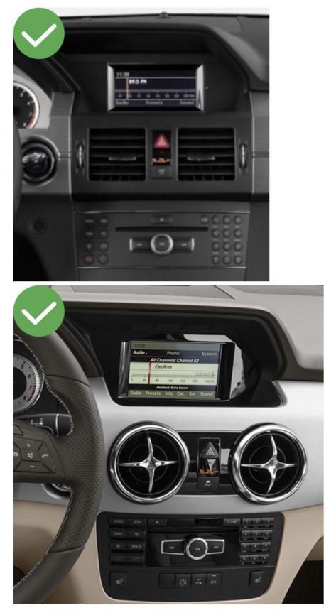 Mercedes glk slk ml gl slc ntg4 0 ntg 5 0 ntg4 5 classe c w204 sl r231 carplay android auto gps autoradio f48 x2 f39 2010 2011 2012 2013 2014 2015 2016 2017 2018 2019 serie 1 serie