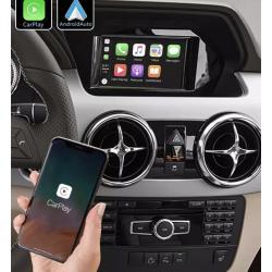 Boîtier Apple Carplay & Android Auto sans fil pour Mercedes GLK de 2008 à 2015