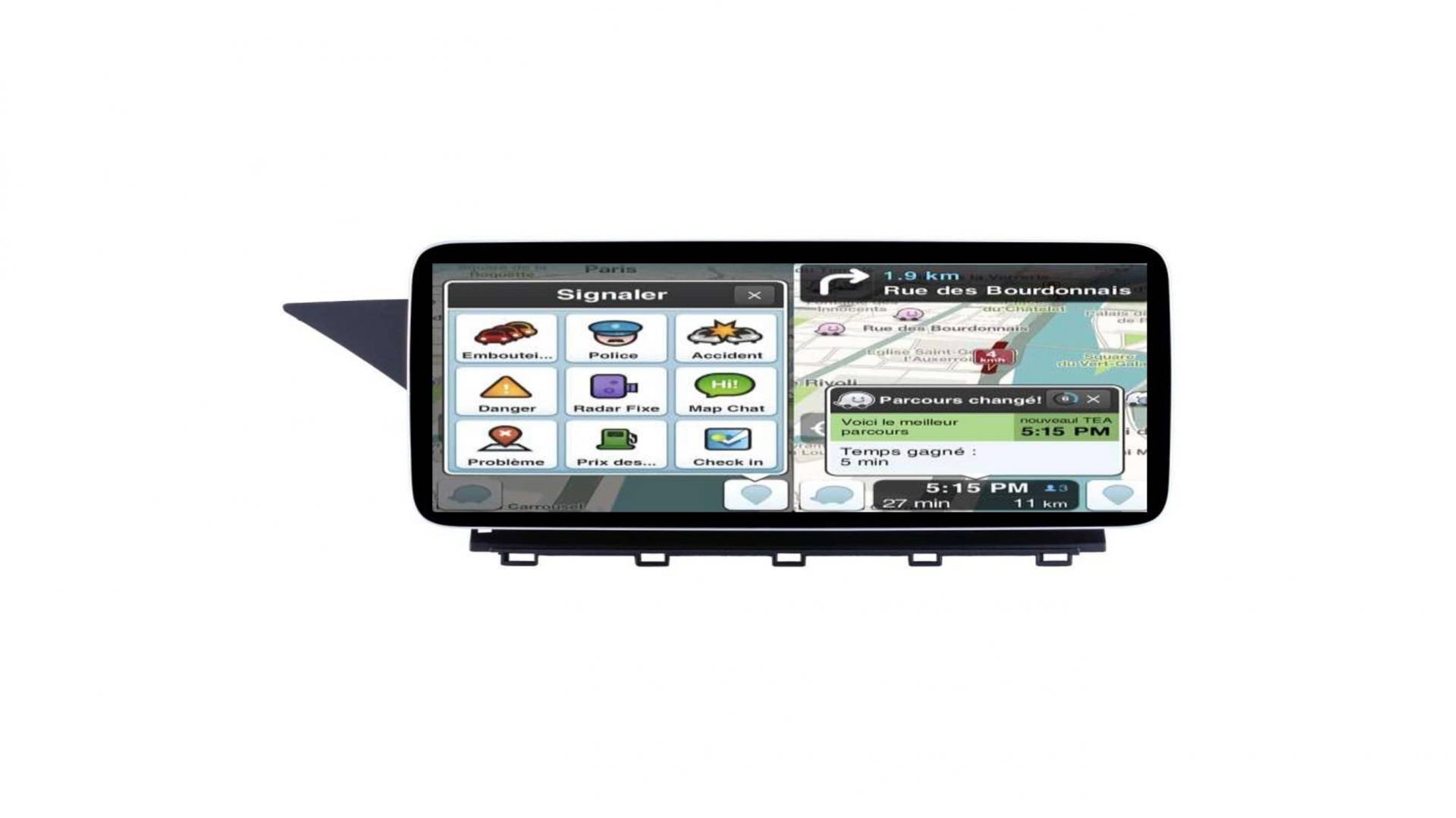 Mercedes glk x204 autoradio gps carplay android auto bluetooth 3