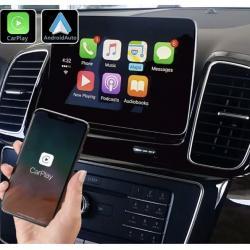 Boîtier Apple Carplay & Android Auto sans fil pour Mercedes GLE et GLS de 2015 à 2019