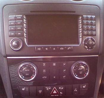Mercedes ml 164 android