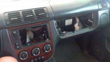 Mercedes ml w163 cd