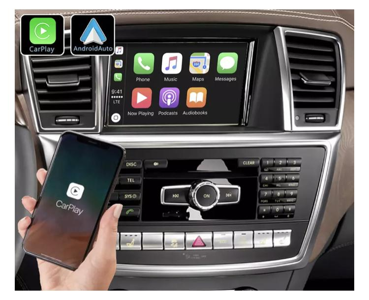 Mercedes slk ml gl slc ntg4 0 ntg 5 0 classe c w204 sl r231 carplay android auto gps autoradio f48 x2 f39 2010 2011 2012 2013 2014 2015 2016 2017 2018 2019 serie 1 serie 3 e90 seri