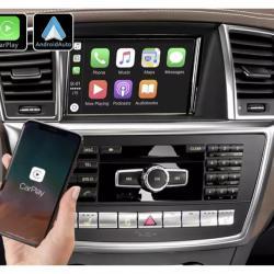 Boîtier Apple Carplay & Android Auto sans fil pour Mercedes ML et GL de 2012 à 2016