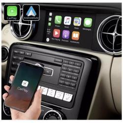 Boîtier Apple Carplay & Android Auto sans fil pour Mercedes SLK et SLC de 2011 à 2018