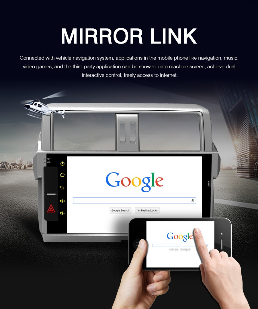 Mirror link pour version android 2