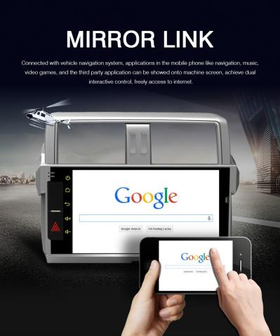 Mirror link pour version android 3