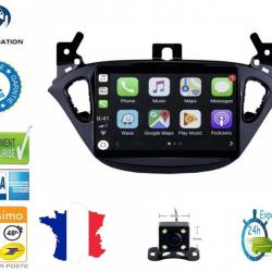 Autoradio Android full tactile GPS Bluetooth Opel Adam et Opel Corsa de 2013 à 2019 + caméra de recul