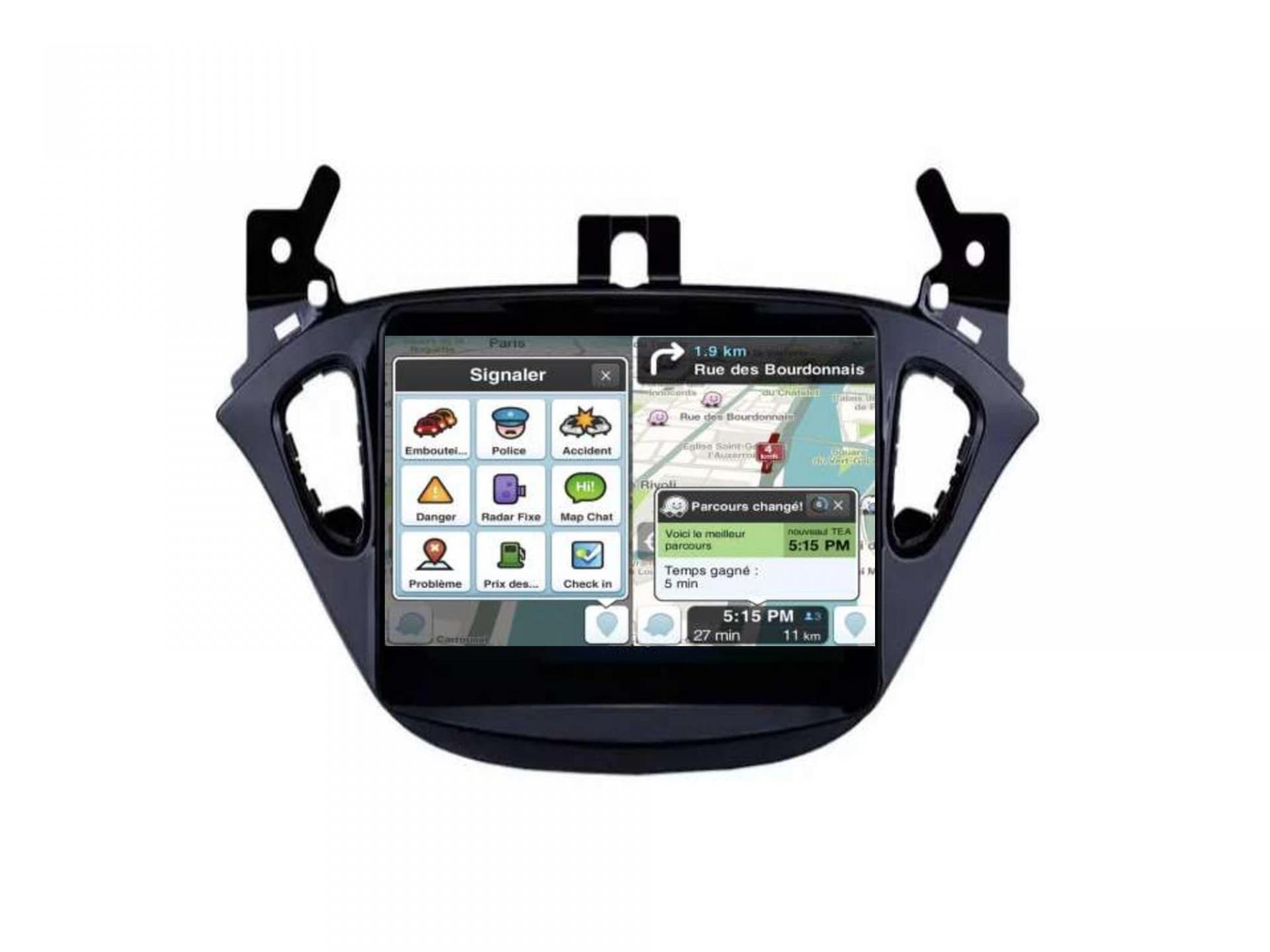 Opel adam corsa autoradio gps carplay android auto gps bluetooth 11