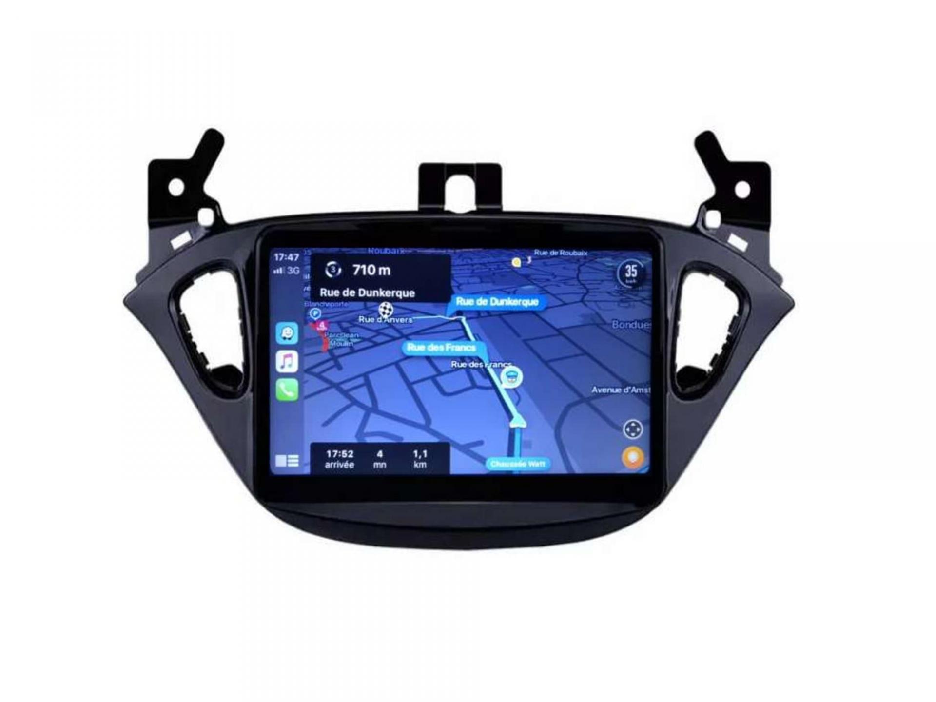Opel adam corsa autoradio gps carplay android auto gps bluetooth 9