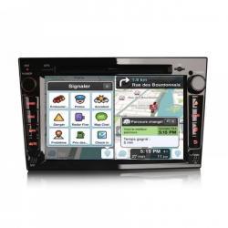 Autoradio Android tactile GPS Bluetooth Opel Astra, Corsa, Antara, Meriva, Vectra, Vivaro, Zafira + caméra de recul