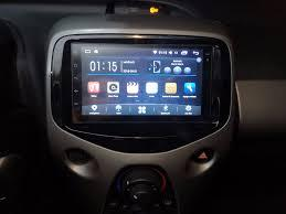 Peugeot 108 autoradio gps bluetooth autoradio gps android camera de recul commande au volant ipod tv dvbt 3g 4g pas cher wifi 3