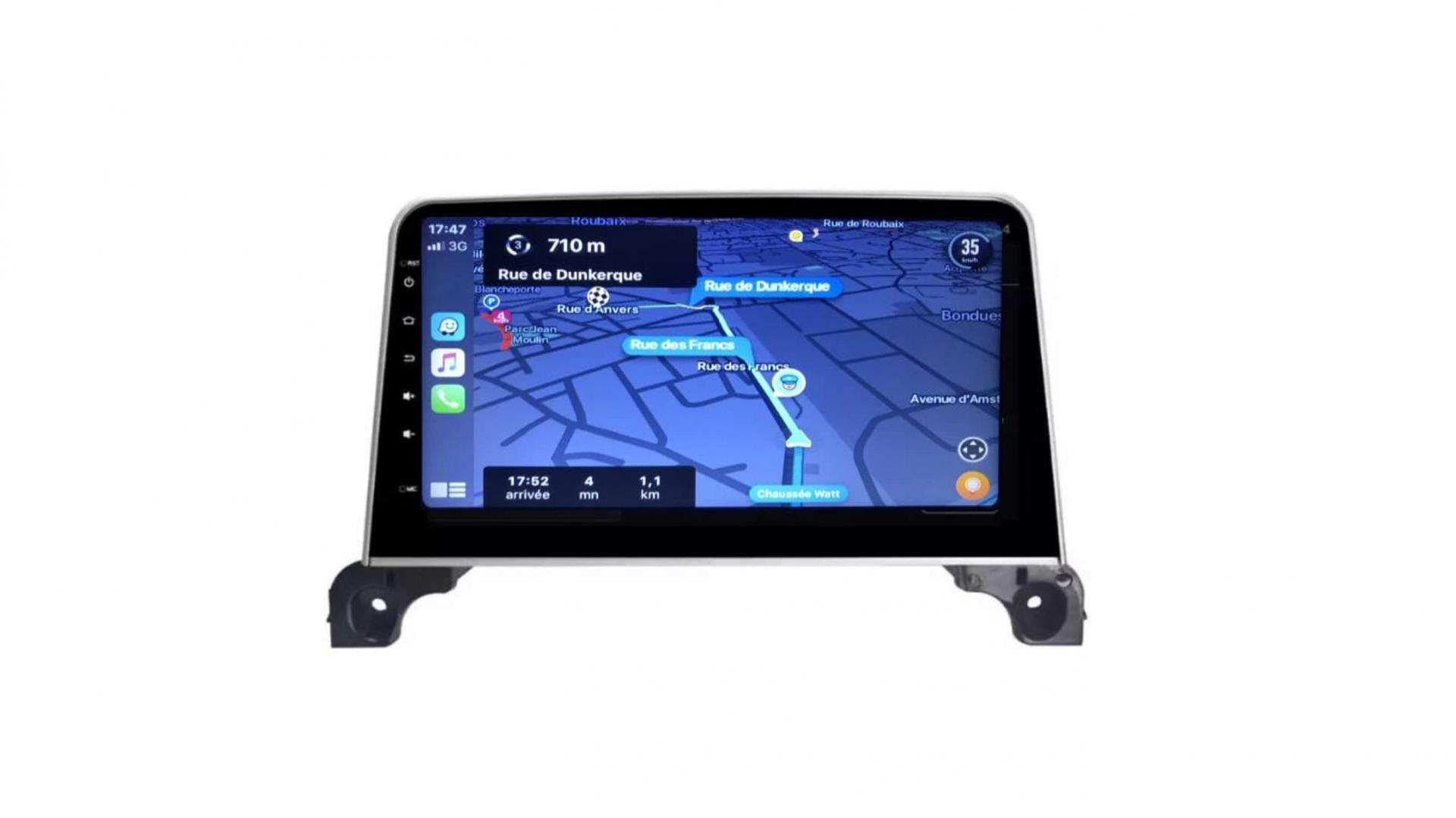 Peugeot 3008 5008 408 rcz autoradio gps bluetooth android auto carplay camera de recul commande au volant44