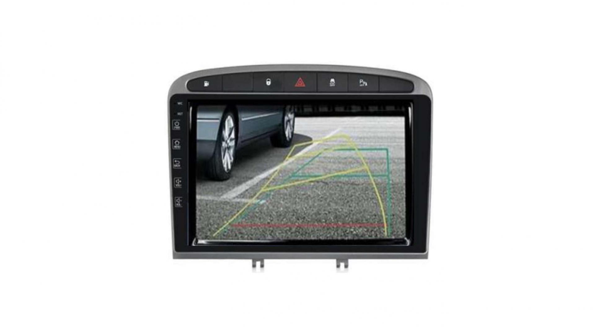 Peugeot 308 408 rcz autoradio gps bluetooth android auto carplay camera de recul commande au volant44