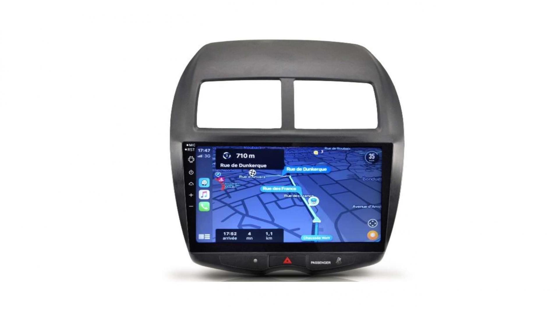 Peugeot 4008 206 207 3008 5008 408 rcz autoradio gps bluetooth android auto carplay camera de recul commande au volant4