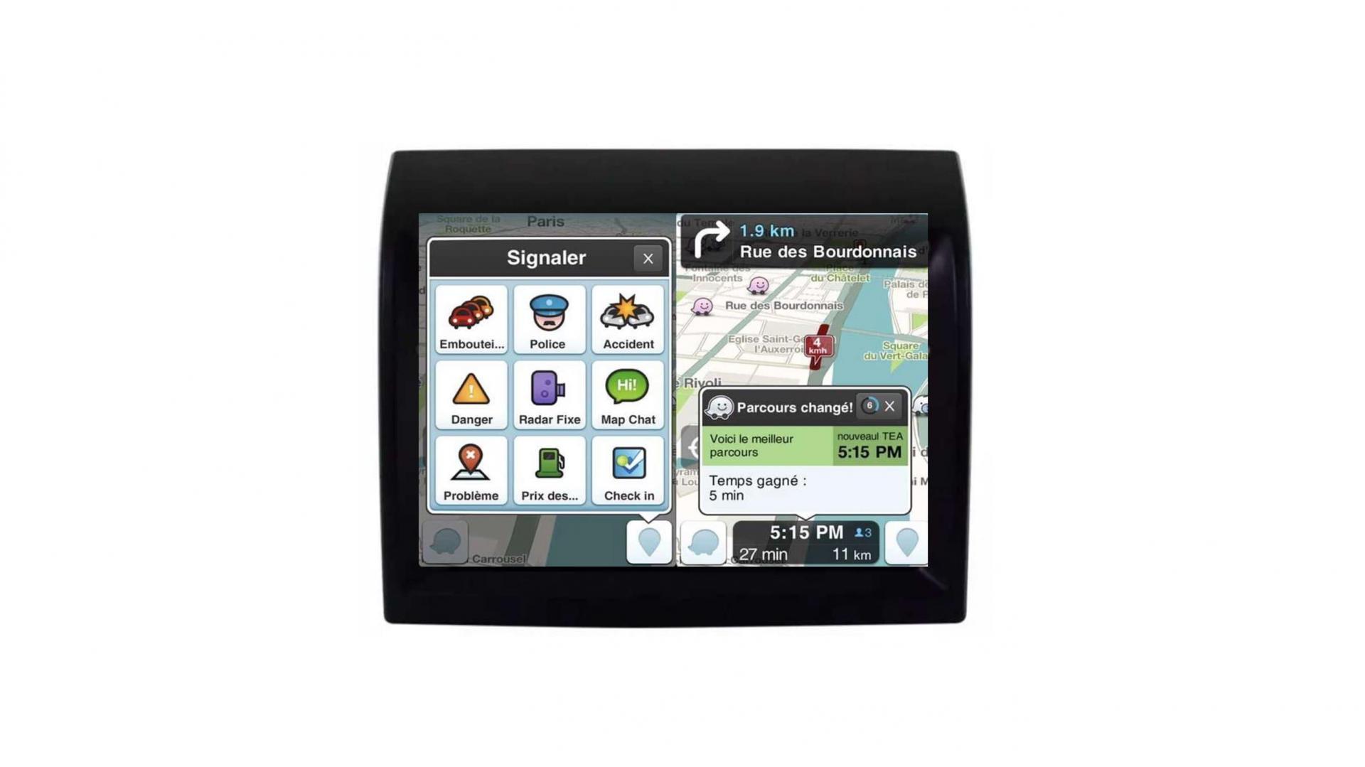 Peugeot boxer autoradio gps bluetooth android auto carplay camera de recul commande au volant2