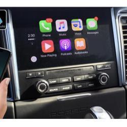 Boîtier Apple Carplay & Android Auto sans fil pour Porsche Macan de 2014 à 2018