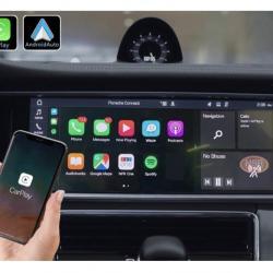 Boîtier Apple Carplay & Android Auto sans fil pour Porsche Panamera à partir de 2018