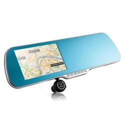 RETROVISEUR GPS 3D WIFI BLUETOOTH IPHONE/ANDROID + CAMERA DE RECUL