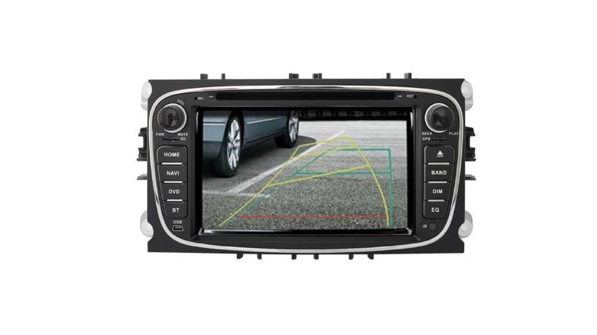 S max galaxy mondeo focus autoradio gps bluetooth android auto carplay camera de recul commande au volant1