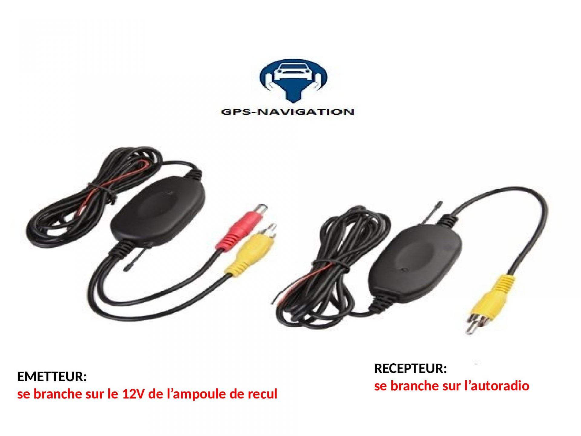 Sans fil wifi cadre de plaque d immatriculation camera de recul de recul radar de recul vision nocture 1