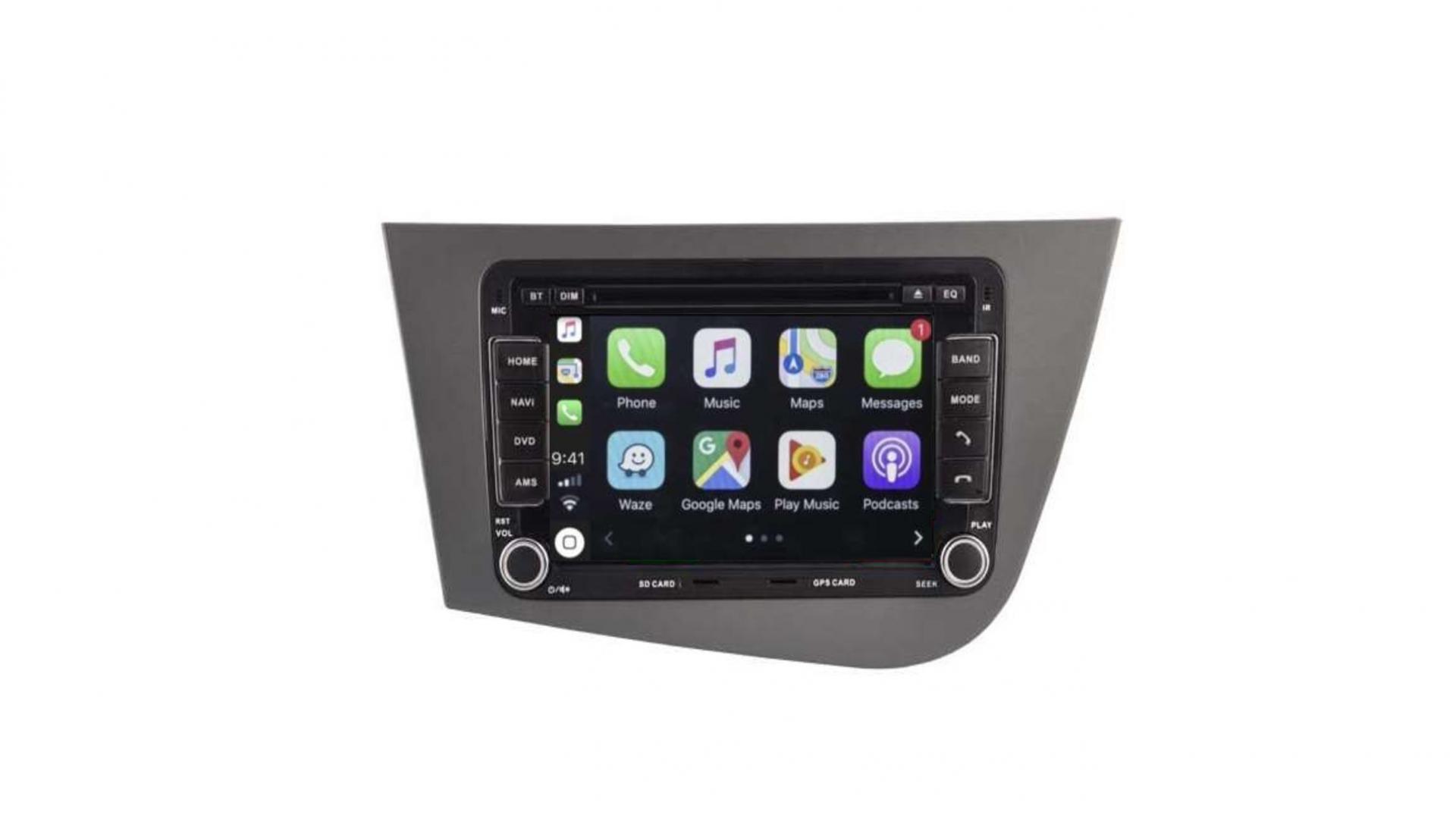 Seat altea toledo alhambra altea xl autoradio gps bluetooth android auto carplay camera de recul commande au volant jpg 00001