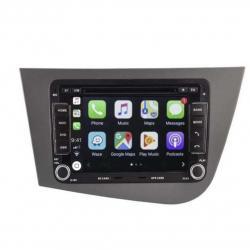 AUTORADIO ANDROID GPS BLUETOOTH SEAT ALTEA, LEON + CAMERA DE RECUL