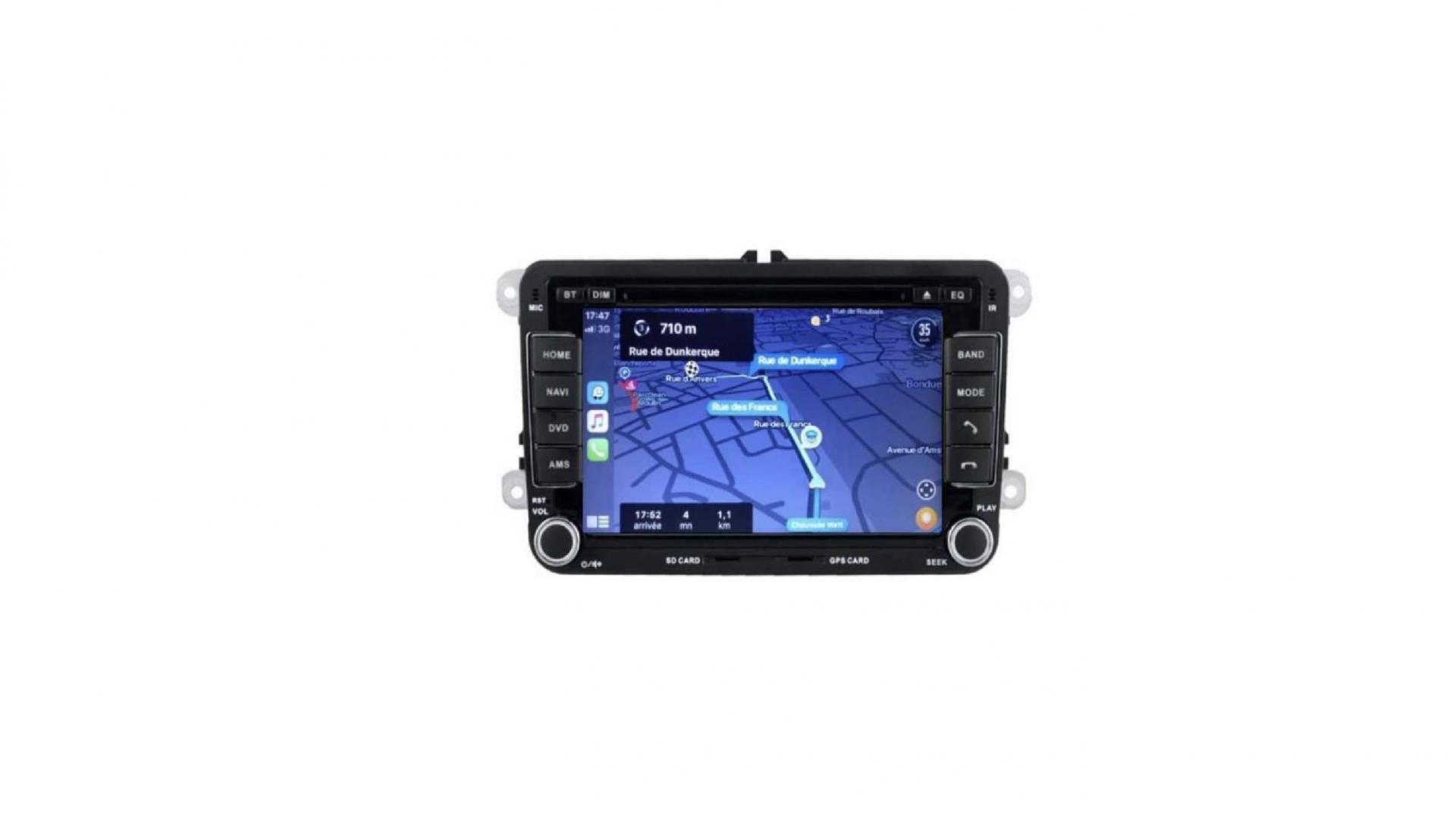 Seat altea toledo alhambra altea xl autoradio gps bluetooth android auto carplay camera de recul commande au volant4 1