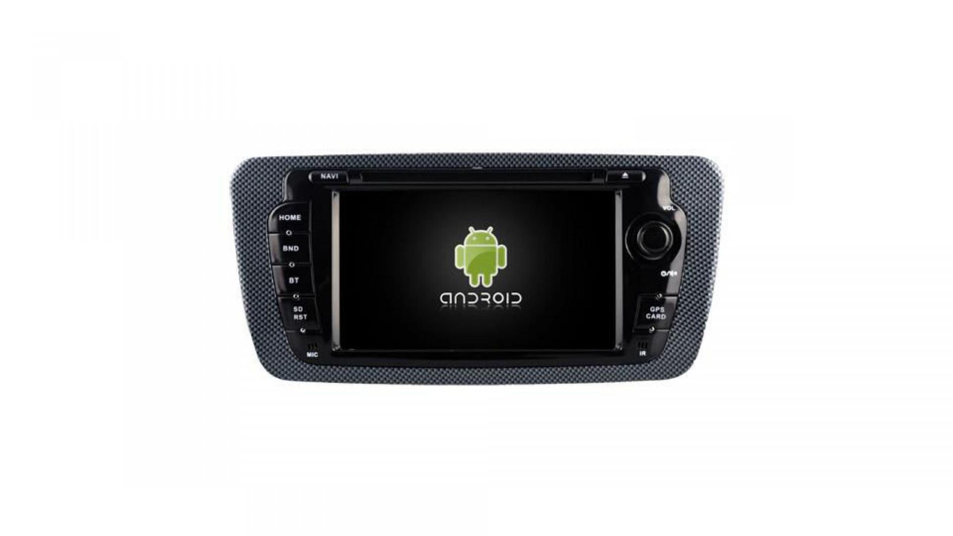 Seat ibiza autoradio gps bluetooth android auto carplay camera de recul commande au volant