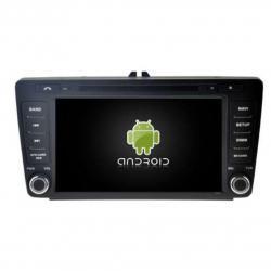 AUTORADIO ANDROÏD GPS BLUETOOTH SKODA OCTAVIA,YETI  AVANT 2013 + CAMERA DE RECUL