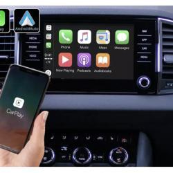 Boîtier Apple Carplay & Android Auto sans fil pour Skoda Karoq depuis 2018
