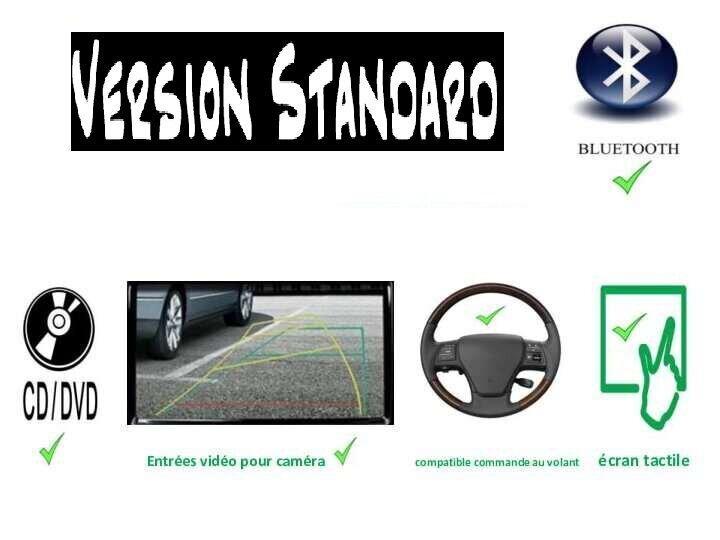 Standard avec commande au volant cd