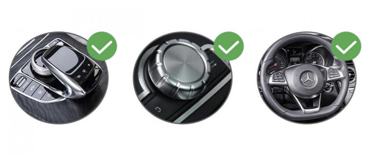 Systeme apple carplay android auto sans fil pour mercedes classe a gla et cla de 2013 a 2019 4