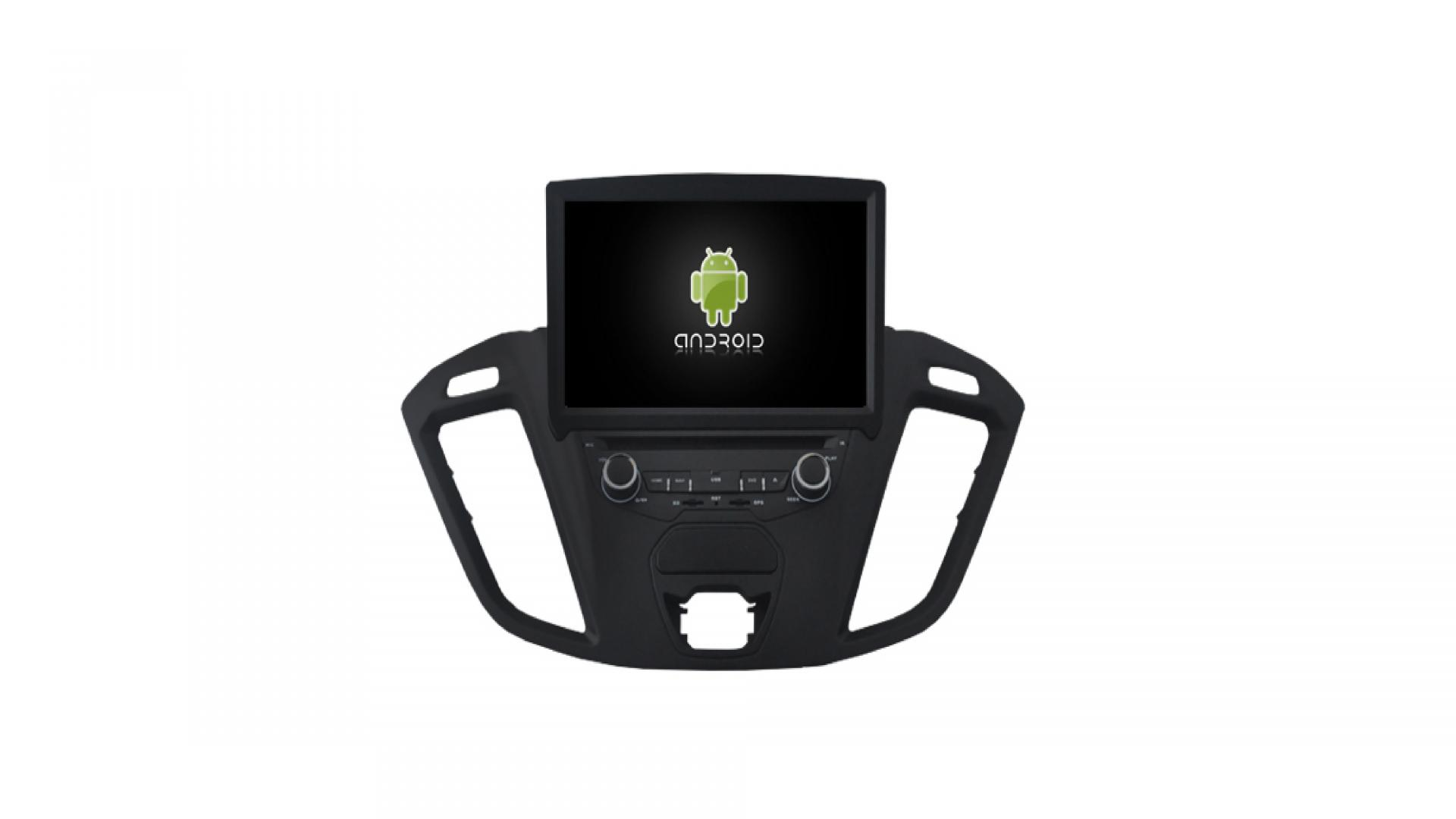 Tourneo transit autoradio gps bluetooth ford mustang explorer edge fusion focus android camera de recul commande au volant ipod tv dvbt 3g 4g pas cher wifi poste usb sd tnt double