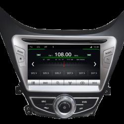 AUTORADIO GPS BLUETOOTH HYUNDAI ELANTRA AVANTE 2013 + CAMERA DE RECUL
