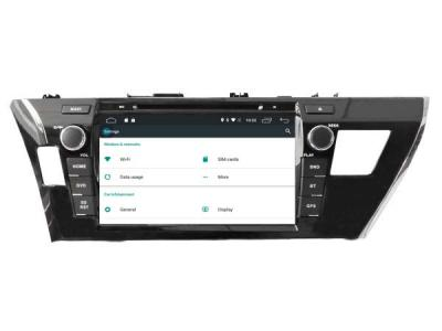 AUTORADIO ANDROÏD GPS BLUETOOTH TOYOTA COROLLA depuis 2014 + CAMERA DE RECUL