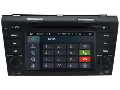 AUTORADIO GPS BLUETOOTH MAZDA 3  2004-2009 + CAMERA DE RECUL
